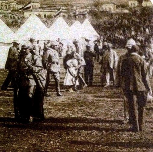 Campement Guillaume II près de Zahlé -catalogue D.G des antiquités