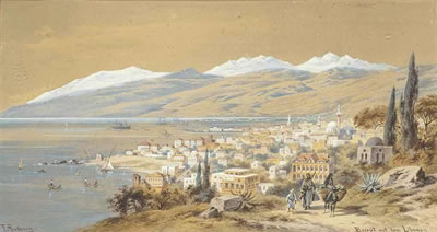 Friedrich Perlberg- Beyrouth