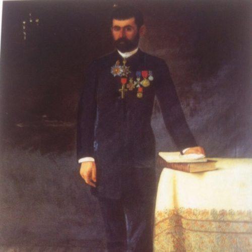 Sélim Haddad - Portrait M. Sélim Tabet en 1888