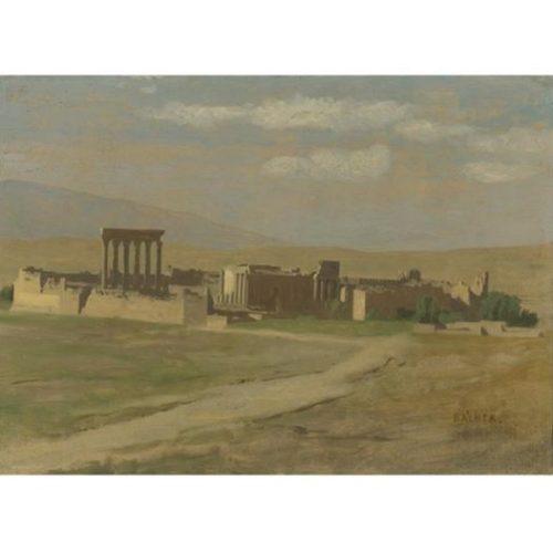 Jean Léon Gérome 1824-1904 Huile sur toile 23x32cm