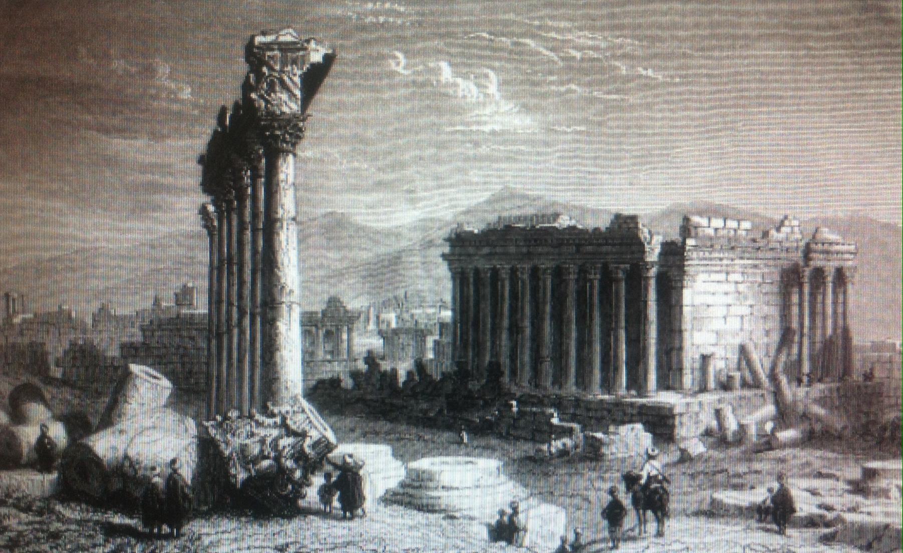 Les ruines de Baalbeck