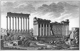 Photo de Baalbeck avant le séisme de 1759