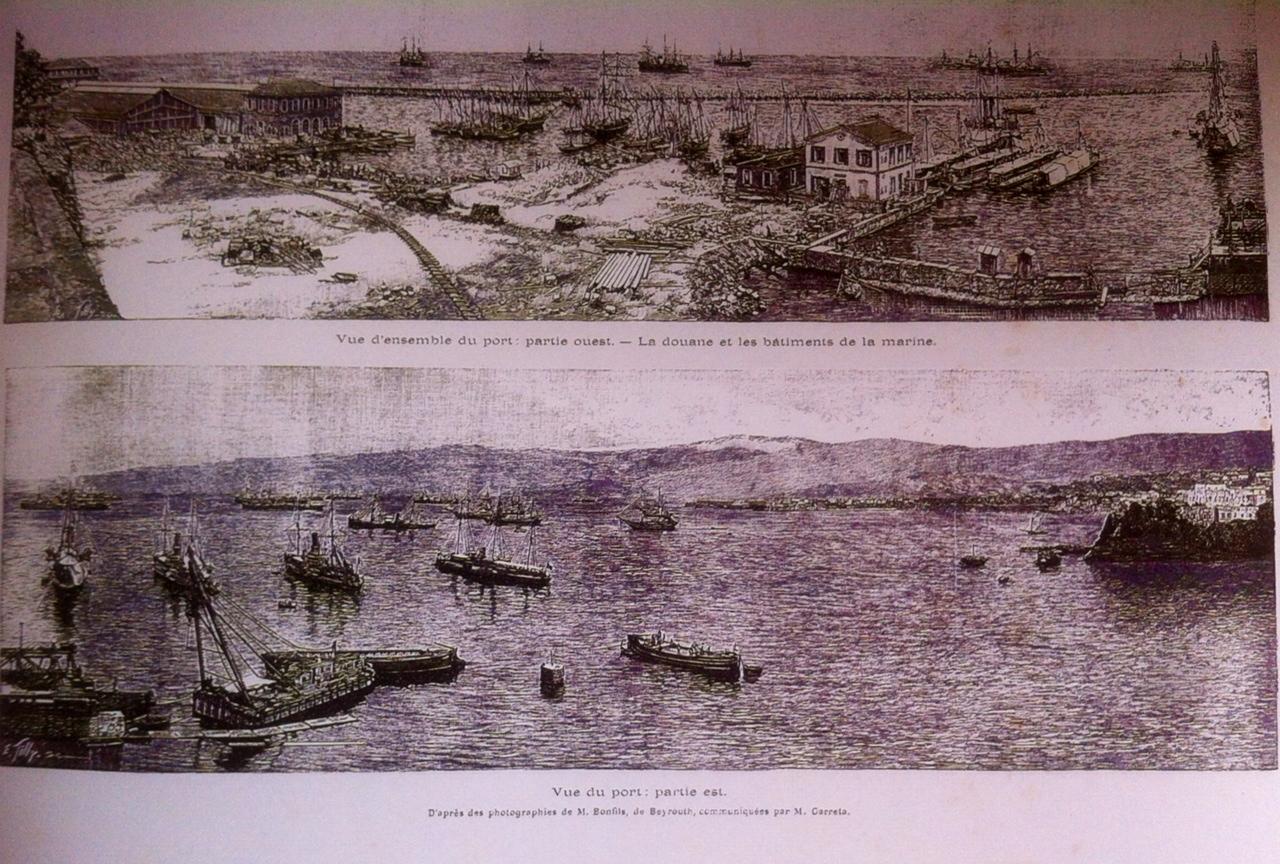 Rénovation du Port de Beyrouh au 19eme siècle
